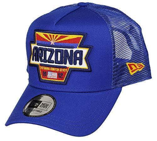 New Era Arizona Cap Verstellbar Trucker USA Patch Sommer...