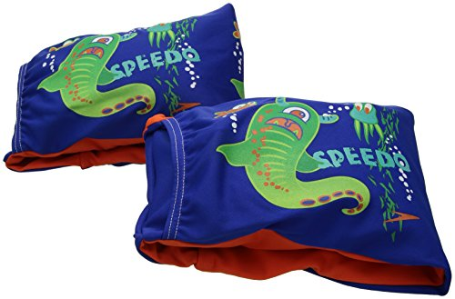 Speedo Kids Begin to Swim Fabric Arm Bands, Sapphire Blue, One Size