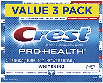 3-Count Crest Pro-Health Whitening Gel Toothpaste, 4.6 oz