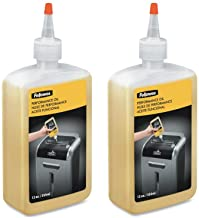 Fellowes Powershred Shredder Performance Oil, 12 oz. Bottle with Extension Nozzle, Sold as 2 Each