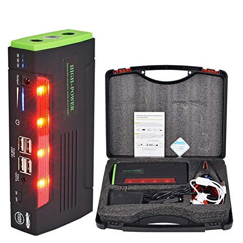 Balscw Alimentation de Secours pour Voiture (Voiture à Essence 6.0, Voiture Diesel 4.0) 20000Mah, Courant de Pointe 600A, lumières LED