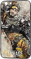 Iphone6 Iphone6s 携帯ケース ガラス スマホケース A-Pex Legends Blood-Hound Tpu 全面保護カバー 背面強化ガラスの携帯保護カバー 強化ガラスケース シリコン ミラー 滑り防止 耐衝撃 おしゃれ シンプル 高級感 超薄型 可愛い イケメン 贈り物