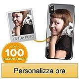 Coverpersonalizzate.it Cover Personalizzata per Apple iPhone Xcon la Tua Foto, Immagine ...