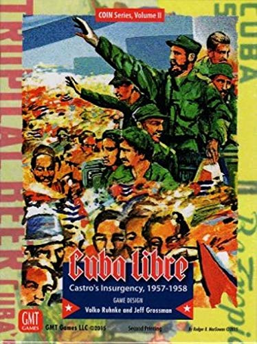 Cuba Libre Reprint Edition by GMT Games