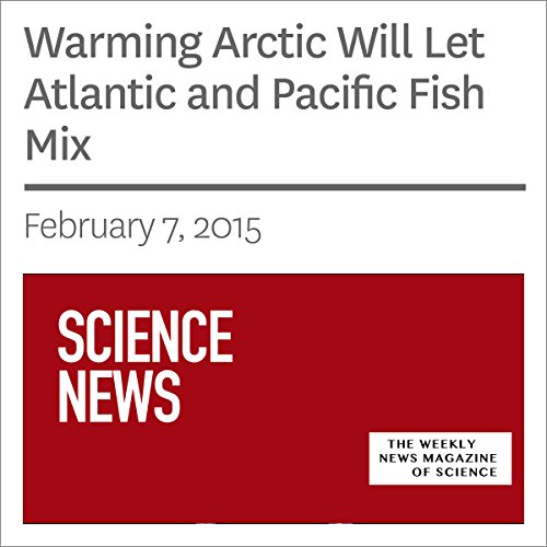 Warming Arctic Will Let Atlantic and Pacific Fish Mix                   By:                                                                                                                                 Sarah Zielinski                               Narrated by:                                                                                                                                 Mark Moran                      Length: 3 mins     Not rated yet     Overall 0.0