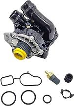 OKAY MOTOR Water Pump Assembly for 2008-2016 VW CC Tiguan Jetta GTI Beetle Audi TT A3 A4 Q5 2.0T CBFA/CCTA Engine 06H121026BA 06H121026CQ