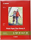 Canon 1432C003 Photo Paper Plus Glossy II 8.5' x 11' 20 Sheets