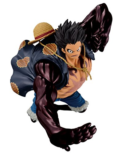 Banpresto 33820P – Figuras One Piece SCultures Big Zoukeio Special – Gear Fourth Monkey D. Luffy
