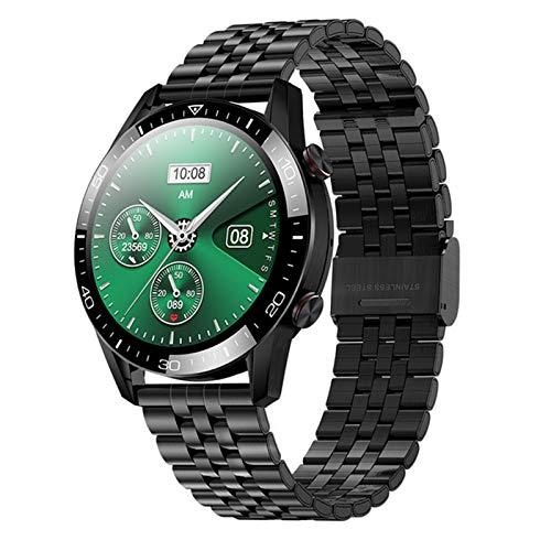Ake Adecuado para iOS Android TK28 Smart Watch Llamada A Bluetooth Smartwatch Hombres Y Deportes De Mujer Reloj De Pulsera De Aptitud,B