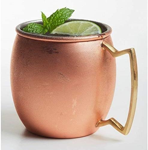 Brilliant OFFicial store - Moscow Mule specialty shop 20 SS Round Mug oz. Copper