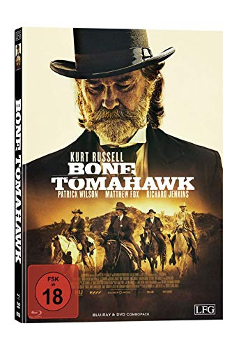 Bone Tomahawk - Mediabook - Cover D - Limited Edition auf 150 Stück  (+ DVD) [Blu-ray]