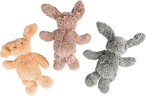 SPOT Ethical Pets 13' Assorted Cuddle Bunnies Plush Dog Toy (54130)