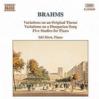 Variations Opus 21 / 5 Etudes by BRAHMS (1994-02-15)