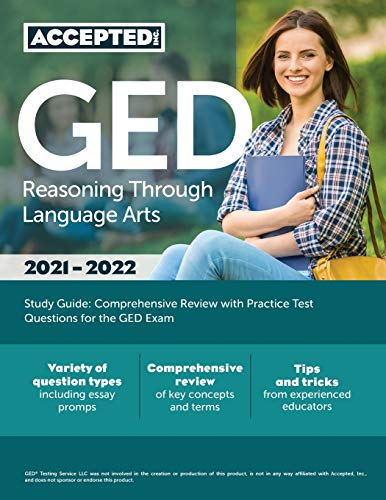 Compare Textbook Prices for GED Reasoning Through Language Arts Study Guide: Comprehensive Review with Practice Test Questions for the GED Exam  ISBN 9781635309614 by Accepted
