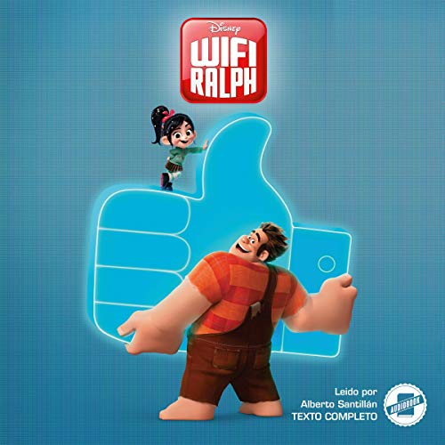 Wreck-It Ralph 2 (Spanish Edition) audiobook cover art