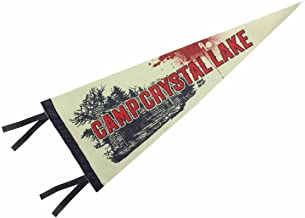 Toynk Friday The 13th Camp Crystal Lake 20-Inch Felt Pennant