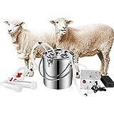 S SMAUTOP 7L Electric Pulsation Milking Machine Single Bucket Piston Vacuum...