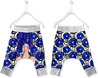 FISHIKII   Pantalón de chándal Baggy Verano Blue - 100% Poliéster - Primavera/Verano 2020 - Niña    