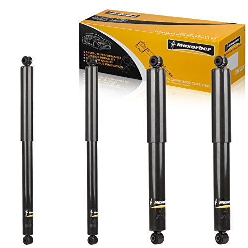 Maxorber 4pcs Front Rear Full Kit Shocks Struts Absorber Compatible with Ford F-250 Super Duty...