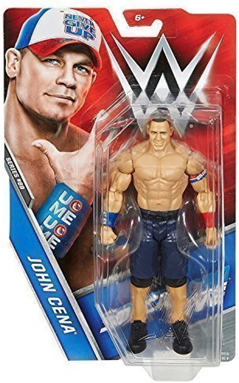 WRESTLING Slammy Chase VARIANTE - WWE John Cena BASE SERIE 69' HLR BIANCO ROSSO & blu Abgreeliamento'