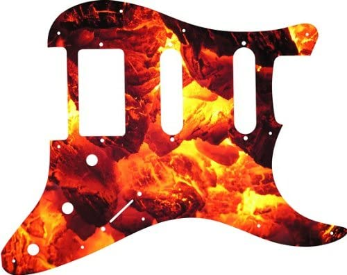 Custom Graphical Pickguard to fit Weekly update Fender S SSH 11 HSS Trust Strat Hole
