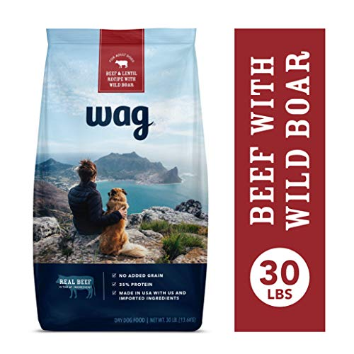 Amazon Brand - Wag Dry Dog Food Beef & Lentil...