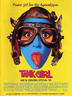 Tank Girl 27x40 Movie Poster (1995)