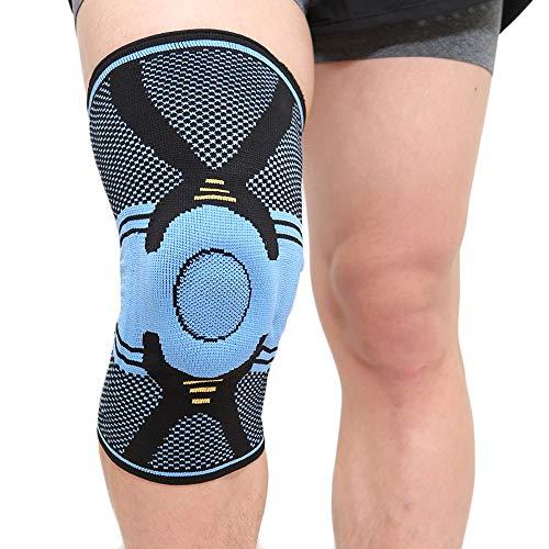 deaunbr Kniebandage Sport Knieschoner knieorthese Männer Damen Kniestütze mit Rutschfestigkeit Stabilität & Atmungsaktivität geeignet für Volleyball Basketball Fußball Wandern Laufen Crossfit - M