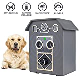 Anti Barking Device, Newest Anti-Barking Device with 2 Ultrasonic Sound Speaker, Detects Sound of Dog Barking up to 50...