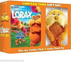Dr. Seuss' The Lorax Blu-ray + DVD + Digital Copy + UltraViolet LIMITED EDITION With Plush Toy