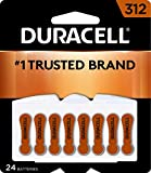 Best 312 Hearing Aid Batteries - Duracell - Hearing Aid Batteries Size 312 (Brown) Review