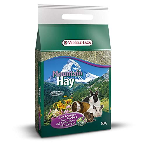Versele Laga - Foin De Montagne - Mountain Hay - Aux Herbes - 500 G