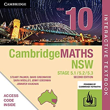 Cambridge Maths Stage 5 NSW Year 10 5.1/5.2/5.3 Digital (Card)