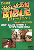 Awesome Bible Adventures: Jesus' Amazing Miracles & David's Mighty Battle [並行輸入品]