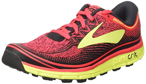 Brooks Puregrit 6, Zapatillas, Mujer, Rosa (Diva Pink/nightlife/black), 40 EU