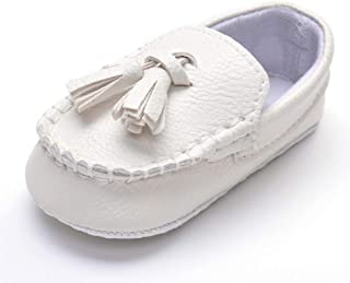 baby loafers with tassels