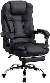 Sillas de Escritorio de Oficina Silla de oficina ejecutiva de cuero de imitación Seat de la computadora de escritorio silla ergonómica diseño de los asientos de altura ajustable de inclinación Synchro