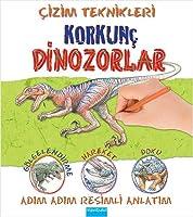 Cizim Teknikleri - Korkunc Dinozorlar