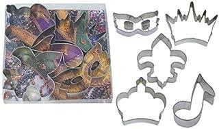 Mardi Gras Cookie Cutter Set - Includes: Fleur De Lis 4.5