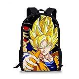 Dragon Ball Z School Bag Set Girls Boys Schoolbags Casual School Students Mochilas Mochilas 13 * 28 * 44Cm