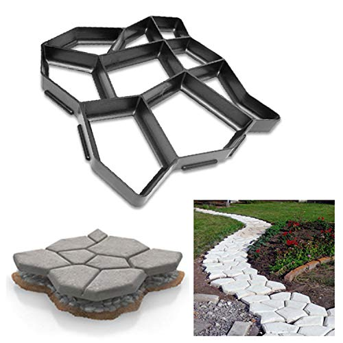 Allée Paving Pavement Mold Concrete Stepping Stone Chemin Maker-Papillon
