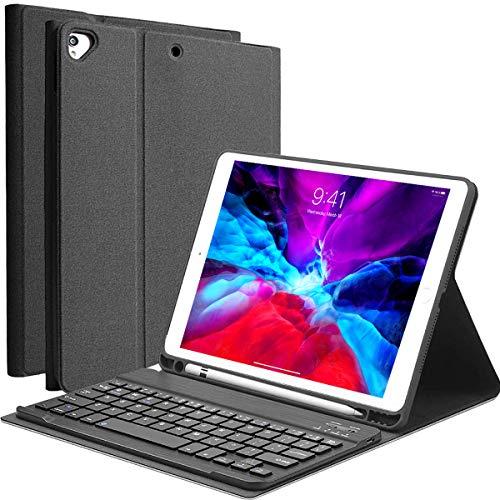 YingStar Teclado con Funda para iPad 10.2 2020 8 Generación / 2019 7 Generación Funda y Teclado Español Ñ para iPad Air 3 10.5 2019 / iPad Pro 10.5 2017 Teclado Bluetooth Inalámbrico Desmontable