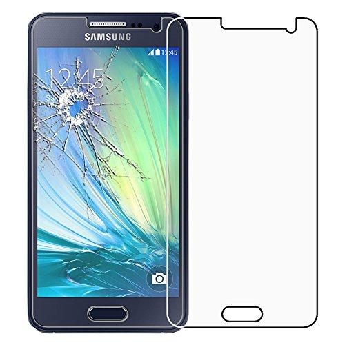 ebestStar - kompatibel mit Samsung Galaxy A3 Panzerglas SM-A300F (2015) Schutzfolie Glas, Schutzglas Displayschutz, Displayschutzfolie 9H gehärtes Glas [Phone: 130.1 x 65.5 x 6.9mm, 4.5'']