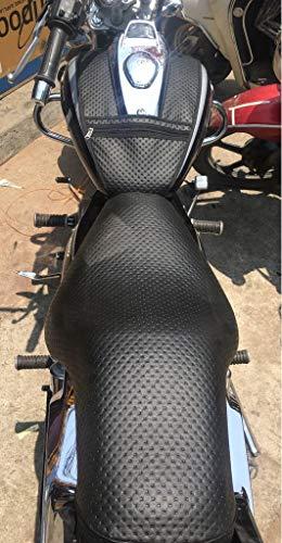 SaharaSeats Bajaj Avenger 150/180/220 - Funda para asiento y funda para depósito (negro, todos los modelos Avenger)