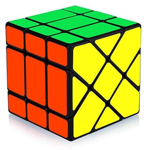 Maomaoyu Magic Rainbow Ball 3D Puzzle Cube Arco Iris Pelota Velocidad Cubo Niños Juguetes Educativos