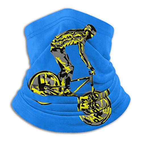 XXWKer Microfibre Chapeaux Tube Masque Visage Tour de Cou Cagoule, Mountain Bike Downhill Rider Men & Women Cold Weather Ultimate Thermal Retention Face
