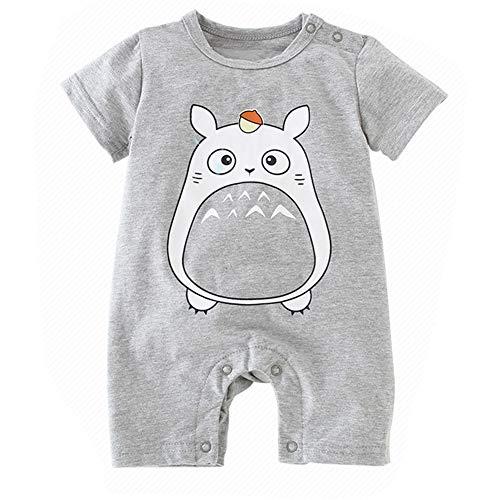 Bebe Monos Recién Nacido Bebé Niño Niña Historieta Mameluco Lindo Peleles Escalada Totoro Ropa...