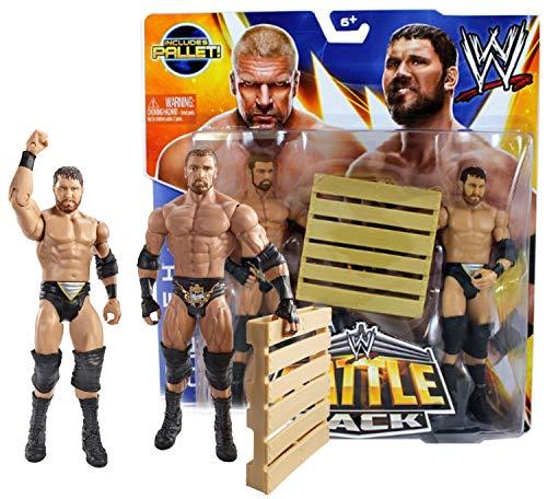 Triple H & Axel Curtis Figura w/ palé: WWE Elite Colección Figura De Acción Serie