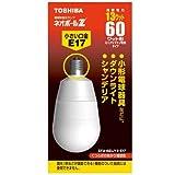 TOSHIBA ネオボールZ A形 60Wタイプ  口金直径17mm 電球色 EFA15EL/13-E17