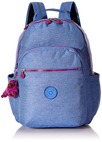 Kipling Mochila Escolar SEOUL Dew Blue